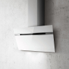 Elica Ascent 90cm White Glass Angled Extractor