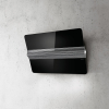 Elica Capitol 80cm Black Glass Angled Extractor
