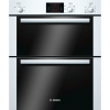 Bosch HBN13B221B Built Under Double Electric Oven, White