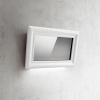 Elica Picture 85cm White Angled Extractor