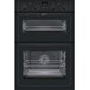 Neff U14M42S5GB Built In Double Electric Oven, Black