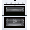 Neff U17M42W5GB Built Under Double Electric Oven, White