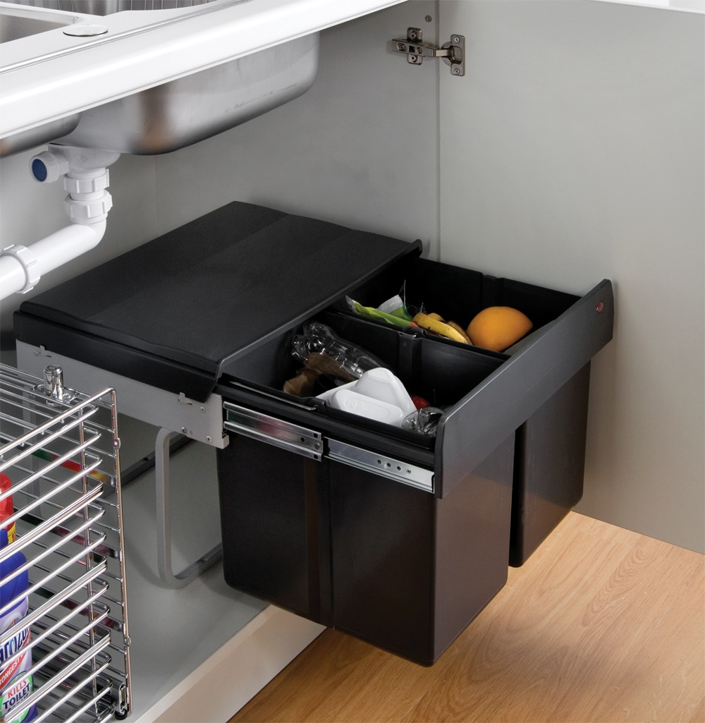 Diy Under Kitchen Sink Storage