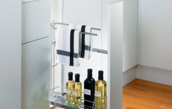 150mm Base Pull Out with Towel Rail
