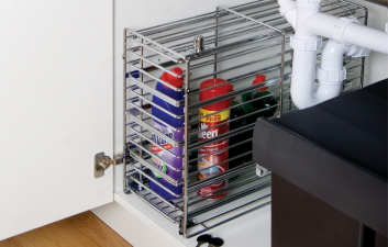 Lockable Detergents Basket