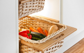 Oak Wicker Baskets