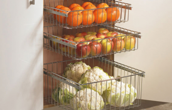 Pull Out Vegetable Baskets