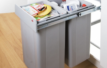 Wesco Bio Double Waste Bin