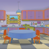 A Real Life Simpson Inspired Kitchen