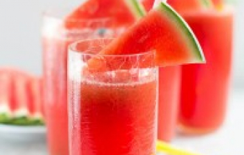 A SUMMERTIME COCKTAIL RECIPE THE WATERMELON FIZZ