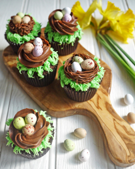 Easter Cupcake With Cadbury's Mini Eggs Recipe