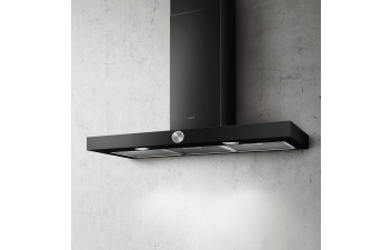 Elica Alpha 90cm Black Box Style Extractor