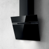 Elica Ascent 60cm Black Angled Glass Extractor