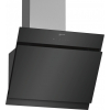 Neff D65IHM1S0B 60cm Black Glass Angled Extractor