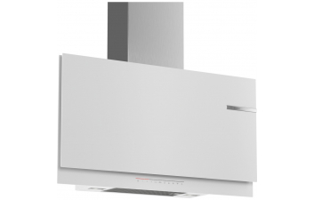 Bosch DWF97KR20B 90cm White Flat Glass Design Extractor