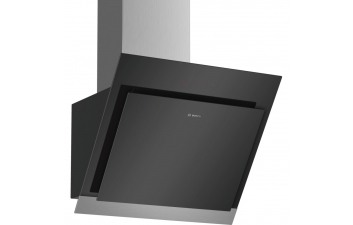 Bosch DWK67HM60B 60cm Black Angled Glass Extractor