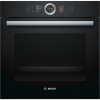 Bosch HBG656RB6B Built In Single Electric Oven, Black, Home Connect Ready