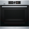 Bosch HBG656RS6B Built In Single Electric Oven, Home Connect Ready