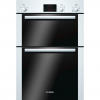 Bosch HBM13B221B Built in Electric Double Oven, White