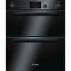 Bosch HBN13B261B Built Under Double Electric Oven, Black