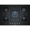 Bosch PPQ7A6B90 5 Burner Gas Hob, Tempered Glass