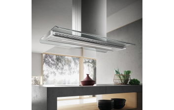 Elica Serendipity 120cm Island Flat Glass Extractor