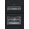 Neff U15E52S5GB Built In Double Electric Oven, Black