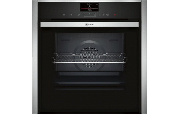 Neff B47VS34N0B Slide & Hide Single Electric Oven with VarioSteam