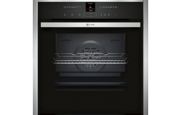 Neff B57VR22N0B Slide & Hide Single Electric Oven with VarioSteam