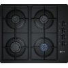 Neff T26CR48S0 4 Burner Gas Hob, Black