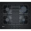 Neff T26CS49S0 4 Burner Gas on Glass Hob
