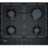 Neff T26DS49S0 4 Burner Gas Hob, Black