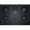 Neff T27DS59S0 75cm 5 Burner Gas Hob, Black