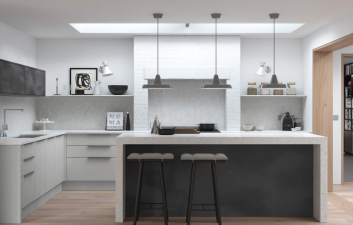 Pollino Dove Grey Slab Collection