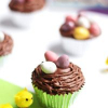 Eggstra Easy Easter Nest Chocolate Cupcake Recipe