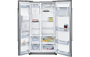 Neff KA3902B20G American-Style Fridge Freezer with Ice & Water Dispenser