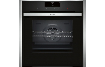 Neff B58CT68N0B Slide & Hide Pyrolytic Single Electric Oven