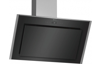 Neff D95IMT1N0B 90cm Black Glass Angled Extractor