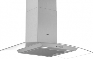 Bosch DWA94BC50B 90cm Curved Glass Stainless Steel Extractor