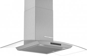 Bosch DWA96DM50B 90cm Curved Glass Stainless Steel Extractor
