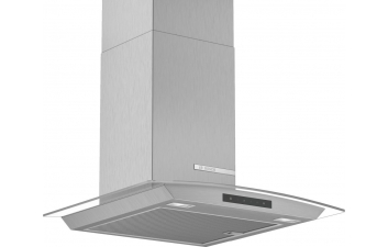 Bosch DWA66DM50B 90cm Curved Glass Stainless Steel Extractor