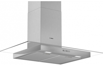 Bosch DWG94BC50B 90cm Flat Glass Stainless Steel Extractor