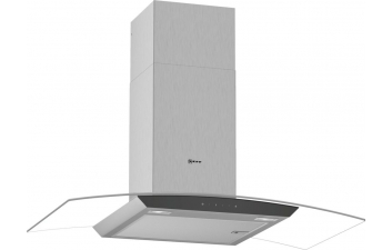 Neff D94AFM1N0B 90cm Curved Glass Extractor