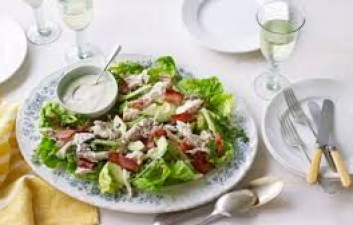 Chicken,avocado and bacon salad recipe