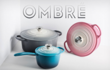 Le Creuset New Limited Edition Ombre' Collection