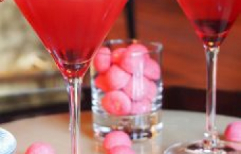 Valentine's Day 'Love Is All' Martini Cocktail Recipe