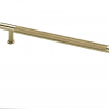 Brushed Satin Brass Evote Pull Handle