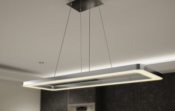 CRUSHED CRYSTAL PENDANT LIGHT