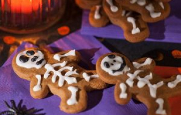 Halloween Night Spooky Bones Biscuit Recipe
