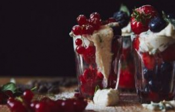 NEFF MARINATED BERRIES WITH THAI BASIL-CREAM AND LONG PEPPER RECIPE